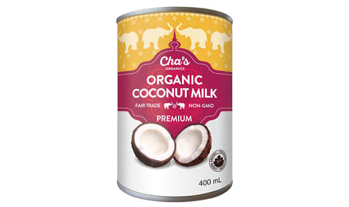 Organic Coconut Milk- Code#: BU0343