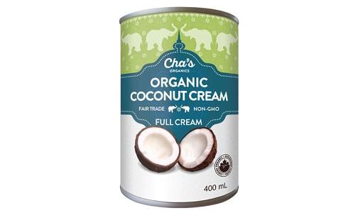 Organic Coconut Cream (BPA & Gum Free)- Code#: BU0346