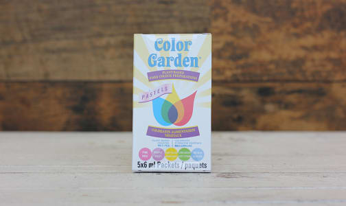 Natural Food Coloring - Pastels- Code#: BU0349