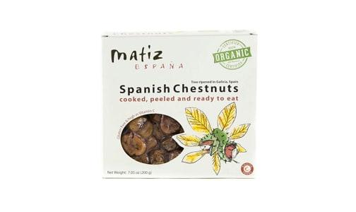 Organic Chestnuts- Code#: BU0354