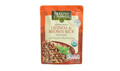 Organic Quinoa & Brown Rice- Code#: BU0355