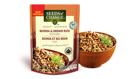 Organic Quinoa & Brown Rice- Code#: BU0355