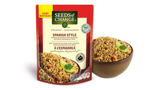 Organic Spanish Style Rice- Code#: BU0356