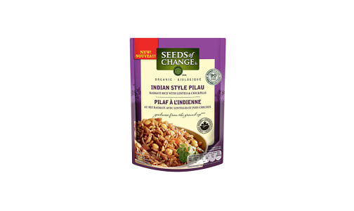Organic Indian Style Rice- Code#: BU0357