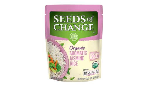 Organic Jasmine Rice- Code#: BU0361