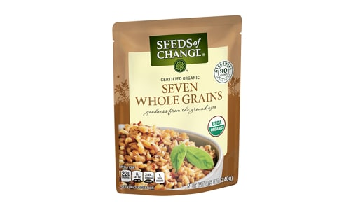 Organic Seven Whole Grains- Code#: BU0363