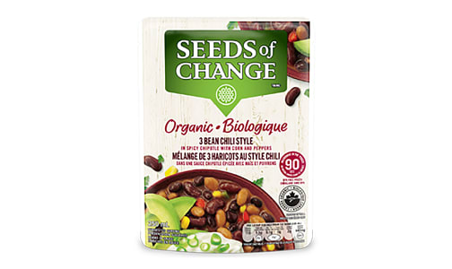 Organic Three Bean Chili- Code#: BU0367