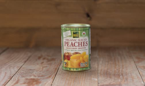 Organic Sliced Peaches- Code#: BU0402