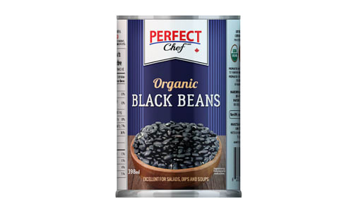 Organic Black Beans with Sea Salt- Code#: BU0479