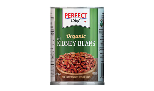 Organic Kidney Beans with Sea Salt- Code#: BU0480