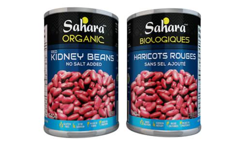 Organic Kidney Beans - No Salt- Code#: BU0483