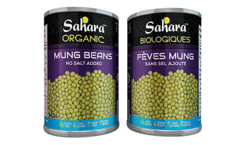 Organic Mung Beans - No Salt- Code#: BU0487