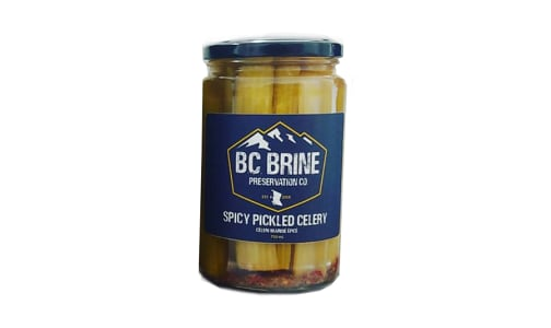 Spicy Pickled Celery- Code#: BU0497