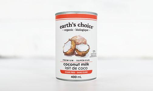 Organic Coconut Milk, Guar Free- Code#: BU0499