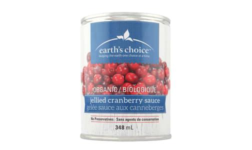 Organic Jellied Cranberry Sauce- Code#: BU0507