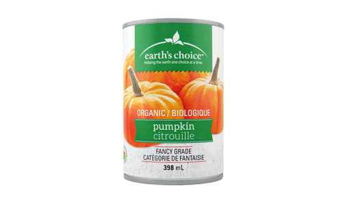 Organic Pumpkin Puree- Code#: BU0508