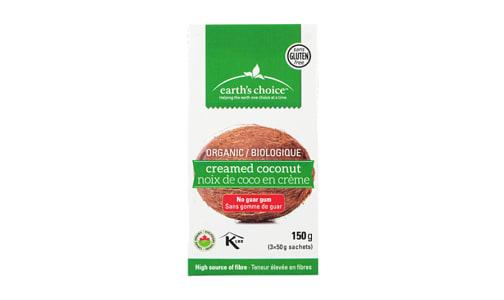 Organic Creamed Coconut Packets- Code#: BU0509