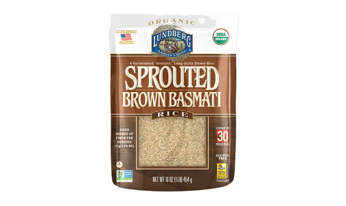 Sprouted Brown Basmati- Code#: BU0515