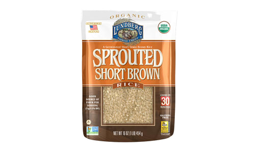 Sprouted Short Brown Rice- Code#: BU0517