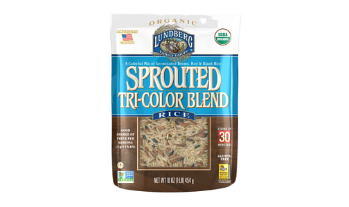 Organic Sprouted Tricolor Rice- Code#: BU0518