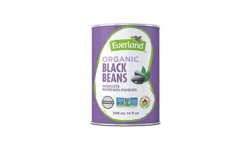 Organic Canned Black Beans- Code#: BU0537