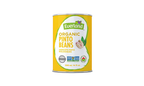 Organic Canned Pinto Beans- Code#: BU0538