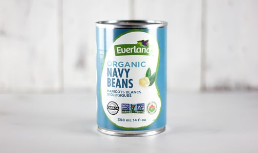 Organic Canned Navy Beans- Code#: BU0539