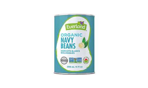 Organic Canned Navy Beans- Code#: BU0539