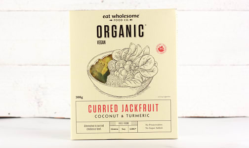 Organic Curried Jackfruit - Coconut & Turmeric- Code#: BU0616