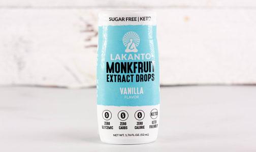 Liquid Monkfruit Sweetener - Vanilla- Code#: BU0617