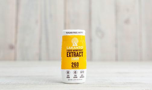 Liquid Monkfruit Sweetener - Lemon- Code#: BU0619
