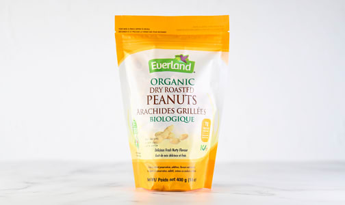Organic Peanuts, Roasted- Code#: BU0641