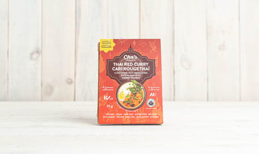 Organic Thai Red Curry Paste with Dried Herbs- Code#: BU0648