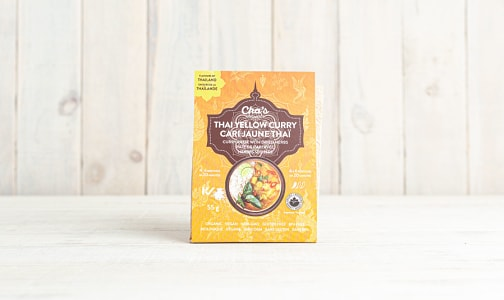 Organic Thai Yellow Curry Paste with Dried Herbs- Code#: BU0649