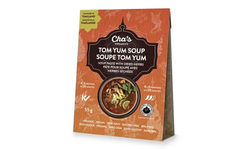 Organic Tom Yum Soup Paste with Dried Herbs- Code#: BU0652