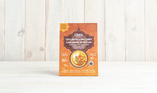 Organic Ceylon Yellow Curry Paste with Dried Herbs- Code#: BU0654