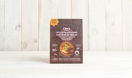 Organic Ceylon Black Curry Paste with Dried Herbs- Code#: BU0656
