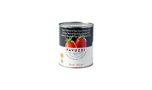 San Marzano D.O.P Tomatoes- Code#: BU0717