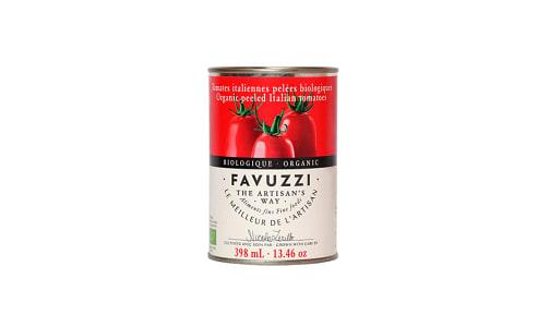 Organic Peeled Tomatoes- Code#: BU0718