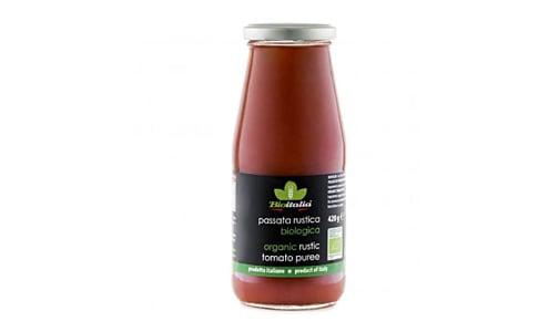 Organic Rustic Crushed Tomatoes- Code#: BU0741