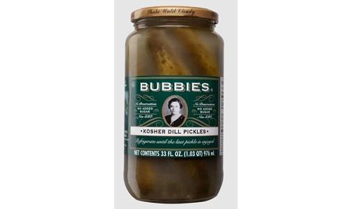 Kosher Dill Pickles- Code#: BU0746