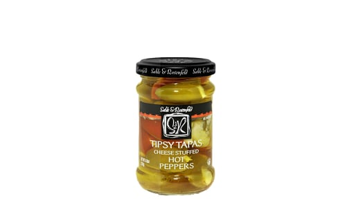 Cheese Filled Hot Peppers- Code#: BU0754