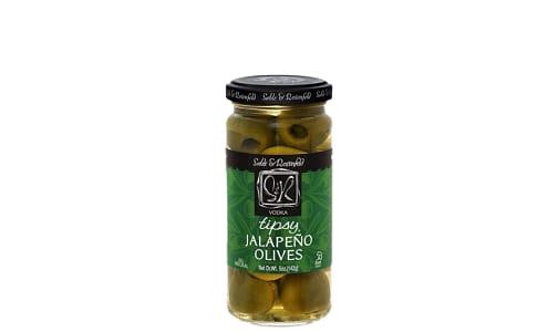 Jalapeno Vodka Olives- Code#: BU0765
