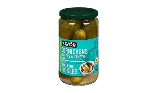 Organic Whole Dill Pickles- Code#: BU0771