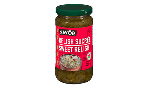 Organic Sweet Relish- Code#: BU0773