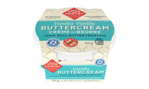 Gourmet Buttercream Frosting - Vanilla- Code#: BU0774