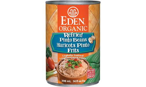 Organic Refried Pinto Beans- Code#: BU0972