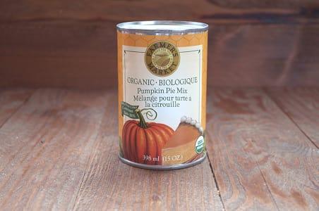 Organic Pumpkin Pie Mix - BPA Free- Code#: BU097
