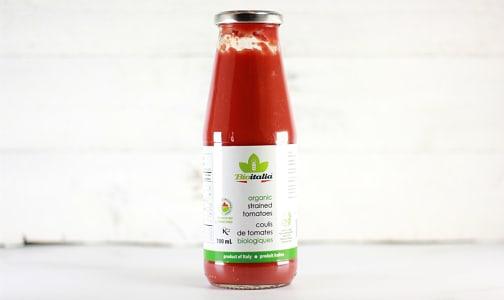 Organic Strained Tomatoes- Code#: BU1324