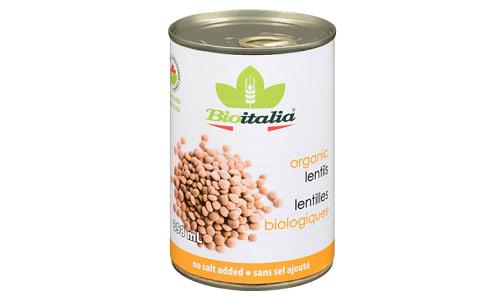 Organic Lentils- Code#: BU1328